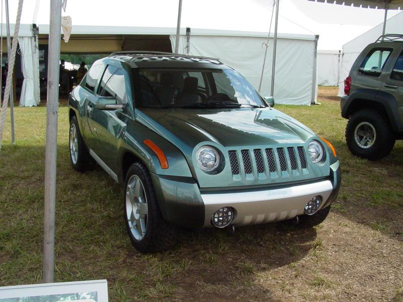 Jeep Compass at Camp Jeep 2004